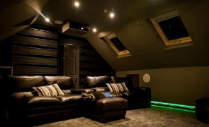 Loft Conversion Cinema in Wakefield Yorkshire