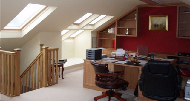 Loft Conversion To Games Room